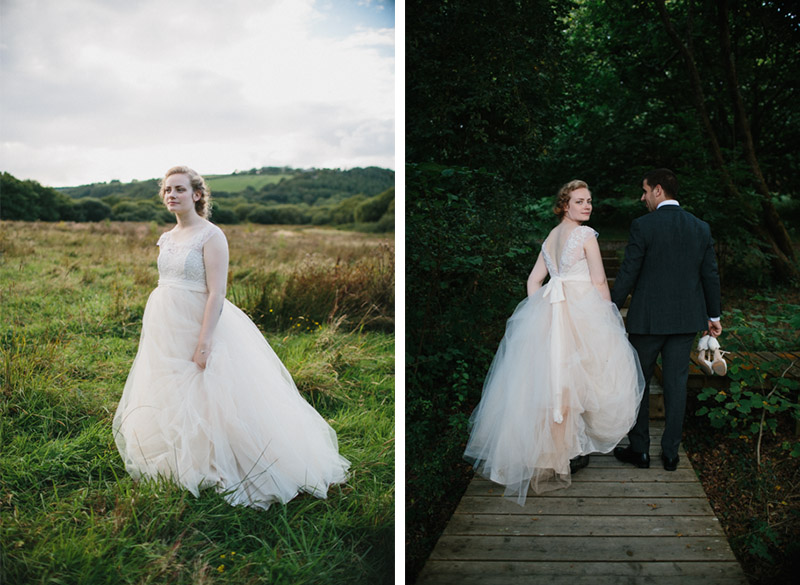Woodland camping wedding at Fforest, Pembrokeshire, Wales