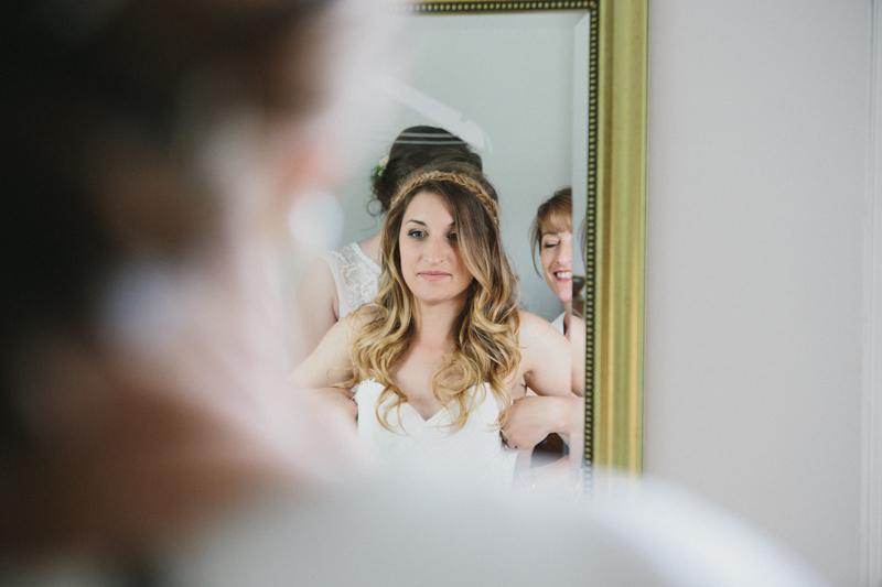 Creative wedding photography, bride preparation,
