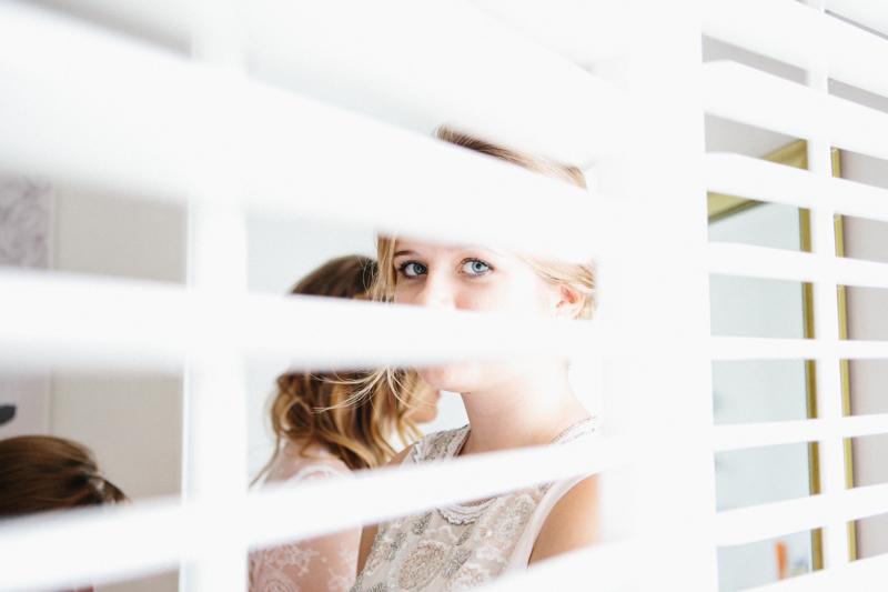 Fine art wedding photography, bride preparation, bridesmaids eyes