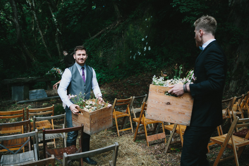 Glamping photo by documentary wedding photographer Peach & Jo taken at Fforest, Pembrokeshire, Wales, UK.