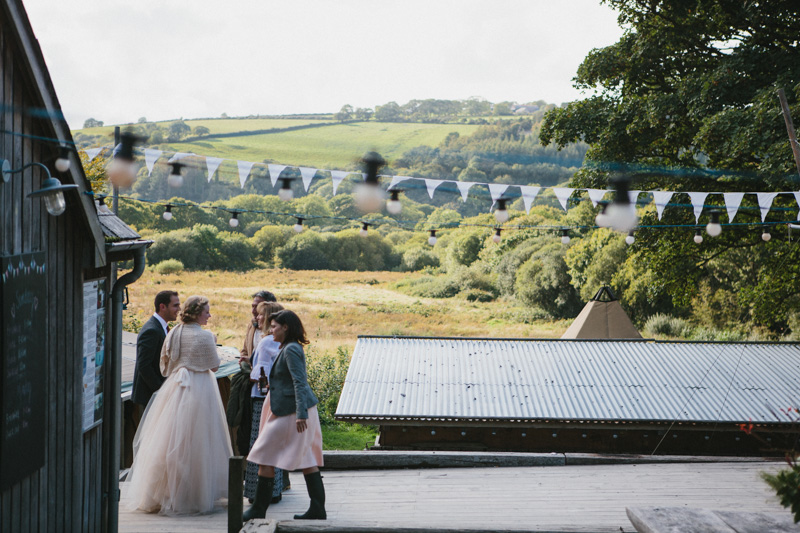 Glamping photo by destination wedding photographer Peach & Jo taken at Fforest, Pembrokeshire, Wales, UK.