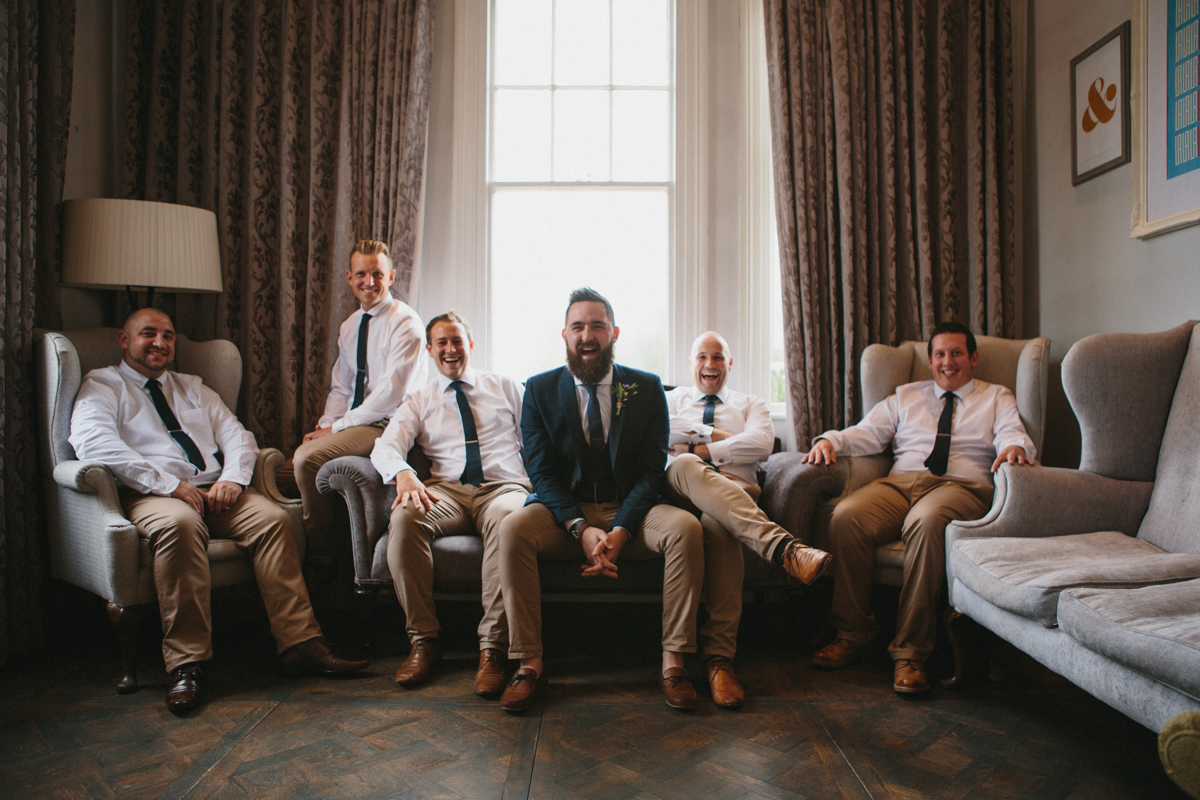 Groom Style at a country wedding
